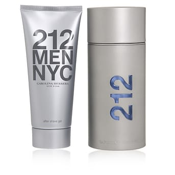 Carolina Herrera 212 Men Edt Cofre Fragancia 100ml + After Shave 100ml