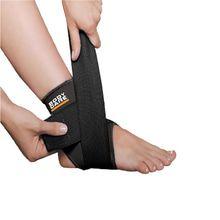 Body Care Tobillera Con Ajuste En 8 Black Line Bc1402E