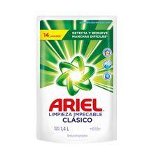 Jabón Líquido Ariel Clásico Pouch 1,4L