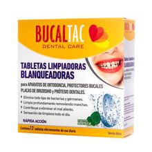 Tabletas Limpiadoras Efervescentes Ortodoncia 12u