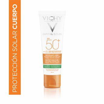 Protector Solar Vichy Capital Soleil Matificante 3 en 1