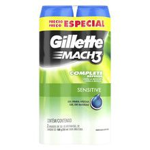Gel Para Afeitar Gillette Mach3 Sensitive 400ml