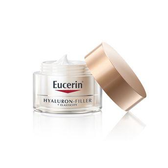 Combo Eucerin Anti-edad Hyaluron Filler + Solar Sun Fluido