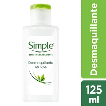 Remover Desmaquillante de Ojos Simple Eye Make-Up 125ml