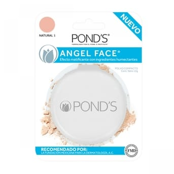 Angelface Natural Polvo Compacto x12gr