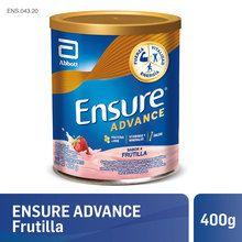 Multivitamínico en Polvo Ensure Advance Frutilla 400g
