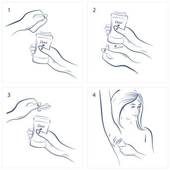 Desodorante Antitranspirante En Barra Dove Original 50gr