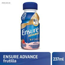 Ensure Advance Shake Frutilla 237 ml x 16un