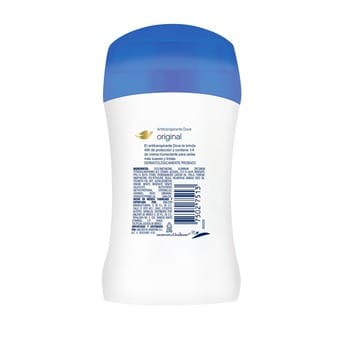 Desodorante Antitranspirante en Barra Dove Original 50g