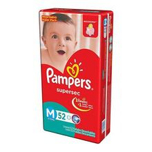 Pañales Pampers Supersec Ultrapack