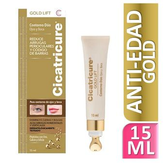 Cicatricure Contorno Duo Gold Lift 15g
