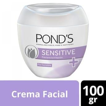 Crema Pond's Sensitive 100g