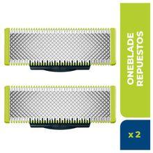 Cuchilla de Recambio Philips Oneblade Qp220/51 Pack x 2un