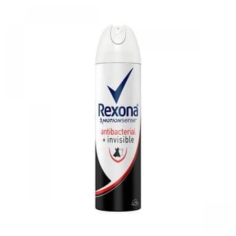 Desodorante Rexona Wom Antibacterial Invisible 150ml (90g)