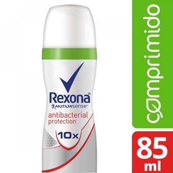 Desodorante Ap Aerosol Rexona Antibacterial 56g