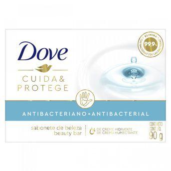 Jabón Dove Antibacterial Cuida & Protege 90g