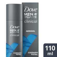 Desodorante Dove Men Clinic Cuidado Total 110ml