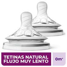 Tetina Avent Natural 0m+ X 2u