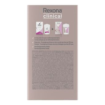 Antitranspirante en Crema Rexona Clinical Women Classic 48g