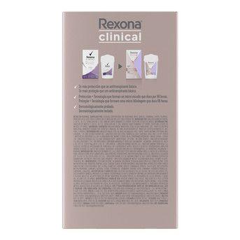 Desodorante Crema Rexona Wom Clinical Extra Drive A/T 48g