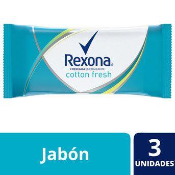 Jabón en Barra Rexona Cotton Fresh 3un