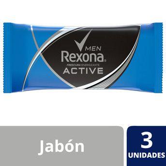 Jabón En Barra Active x3u