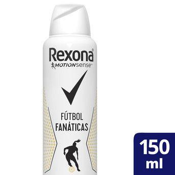 Desodorante Rexona Fútbol Fanáticas 150ml
