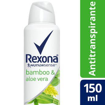 Desodorante Rexona Wom Bamboo & Aloe Vera 150ml (90g)
