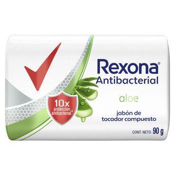 Jabón Antibacterial Rexona Aloe Jabón 108x90g