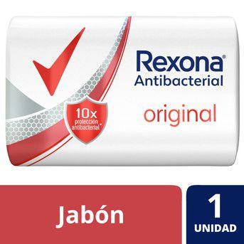 Rexona Jabon Tocador Original Antibacterial x 90g