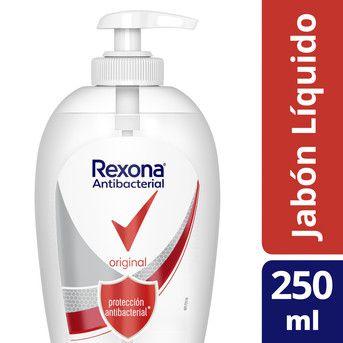 Jabón Líquido Rexona Antibacterial Original 250ml
