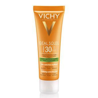 Kit Solar Vichy Ideal Solei Fps30 Anti Acne + Leche Hidrat