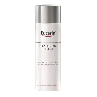 Kit Eucerin Hyaluron-Filler Día Piel Normal a Mixta 50ml + Sun Fluido Antiedad FPS 50 50ml