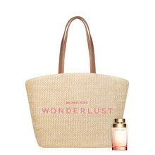 Set Perfume Mujer Michael Kors Wonderlust Edp 100ml + Bolso
