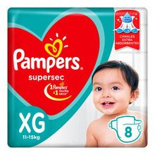 Pañales Descartables Pampers Supersec Minipack