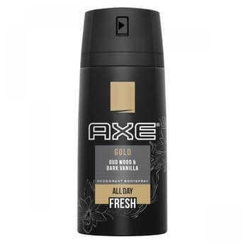 Desodorante Axe Gold Wood Vainilla 150ml