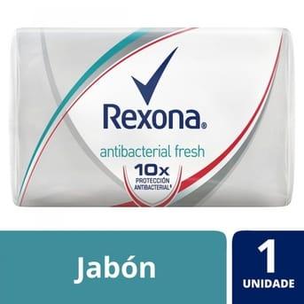Jabón Rexona Antibacterial Fresh 90g x 1un