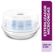 Esterilizador A Vapor Para Microondas Avent Scf281/02