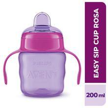 Vaso Avent Bebé Easy Sip Boquilla Antiderrame 200ml