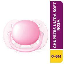 Chupete Philips Avent Ultra Soft 0-6m Rosa Scf413/10