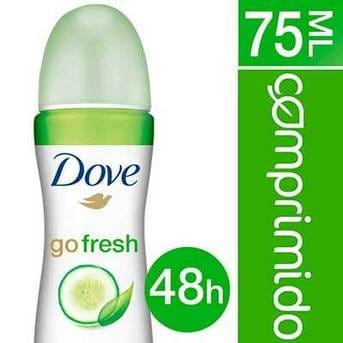 Desodorante Antitranspirante En Aerosol Dove  Fresh Pepino 85ml