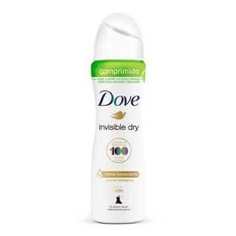 Desodorante Antitranspirante En Aerosol Comprimido Dove Invisible Dry 85ml