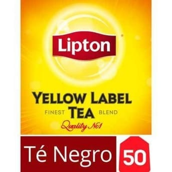 Te Yellow Label Caja 50 Sobres