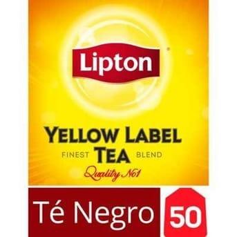 Té Lipton Yellow Label Caja 50 Sobres