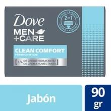 Jabón Dove Clean Comfort 90gr