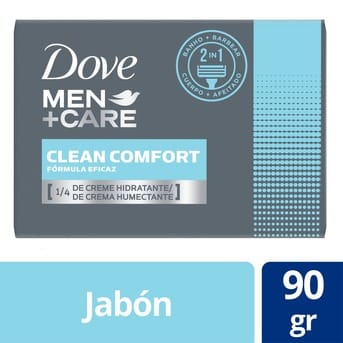 Jabón Dove Clean Comfort 90g