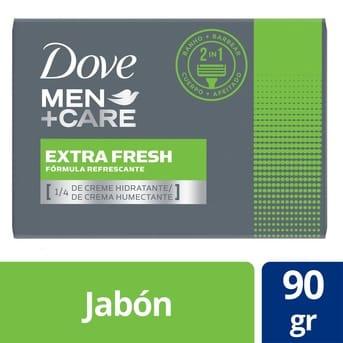 Jabón Dove Extra Fesh 90gr