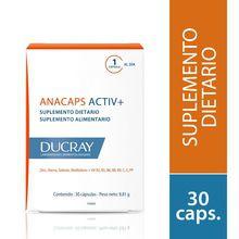 Suplemento Dietario Ducray Anacaps Activ+ 30 Caps
