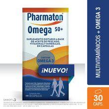 Pharmaton Omega 50+ Omega 3 Suplemento Dietario 30 Capsulas