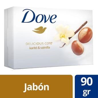 Jabón Pastilla Dove Karité y Vainilla 90g
